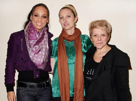 Kimberly Green Keep a Child Alive (KCA) Co-Founder and Global Ambassador Alicia Keys and KCA Co-Founder and President Leigh Blake