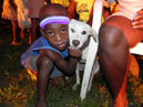 Boy and Dog in Tigwav, Haiti