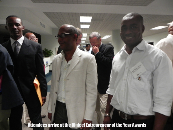 Attendees at Digicel Entrepreneur of the Year Awards